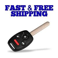FikeyPro Keyless Entry Remote Control Car Key Fob fits 2006 2007 2008 2009 2010 2011 Honda Civic SI EX N5F-S0084A
