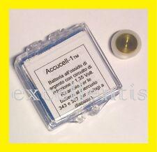 Batteria Accucell-1 da 1,35 volt per orologi Bulova Accutron calibro 214