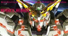 Metal Detail-Up Parts Set RED For Bandai PG 1/60 Unicorn Gundam SHIP FROM USA
