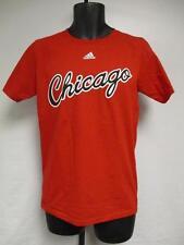 Neu Chicago Bulls Erwachsene Herren Größen S-XL adidas Rot Shirt