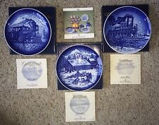 Bing & Grondahl Christmas in America Plates 1993-1995 NIB with COA