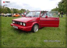 WV Golf Mk1 GTI Cabrio