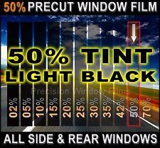 Chevy Silverado, GMC Sierra Crew Cab 07-2013 PreCut Window Tint -Light 50% Film