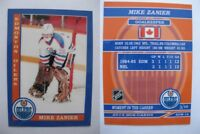 2015 SCA Mike Zanier Edmonton Oilers goalie never issued produced #d/10