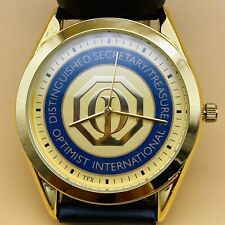 International Recognition Award Watch Distinguished Secretary/Treasurer Optimist
