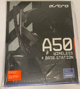 New! Astro A50 + Base Station Wireless Headphones for PS4 / PS5 / PC / MAC