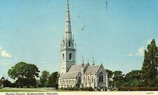 Postcard  Wales Marble church Bodelwyddan Abergele posted