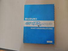 Werkstatthandbuch Werkstattbuch Suzuki GSX R 750 W  Modelljahr 1992- 1993