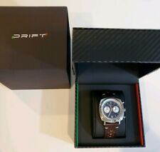 Motor Time Racing Drift DR1790 Chronograph Watch w/ Leather Strap - MSRP $315