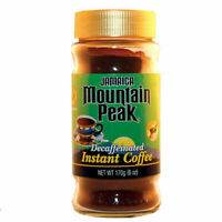Jamaican Mountain Peak Instant Coffee Decaffeinated 6oz