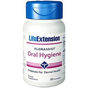 Florassist Oral Hygiene 30 Lozen Life Extension Probiotic Dental L.plantarum