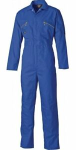 DICKIES WD4839 ROYAL BLUE OVERALL BOILERSUIT VARIOUS JUNIOR/ADULT COVERALL BNWT