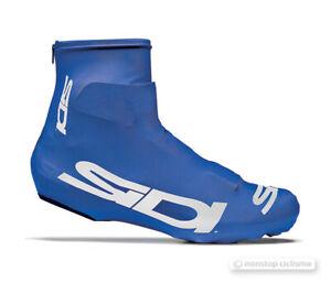 Sidi CHRONO Lycra Aero Cycling Shoe Covers : BLUE