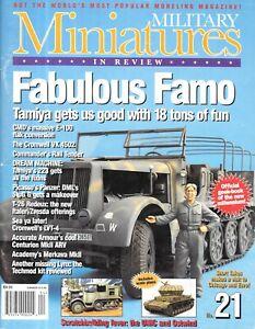 Military Miniatures In Review 21 MMIR German FAMO LVT4 Buffalo StuG III G