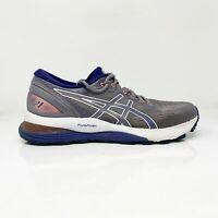 Asics Womens Gel Nimbus 21 1012A156 Gray Running Shoes Lace Up Low Top Size 8