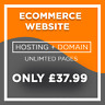 Unlimited Pages - Ecommerce Website Design - Hosting and Domain Included