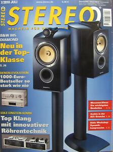 Stereo 7/10 B&W 805, Luxman L-507U, Dali Ikon 6, Denon PMA-1510 AE / DCD-1510 AE