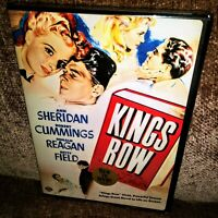 Kings Row (DVD, 2006), NEW AND SEALED, REGION 1, FULL SCREEN, WITH RONALD REAGAN
