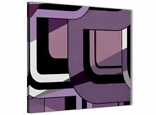Lilac Grey Painting Bathroom Canvas Accessories - Abstract 1s412s - 49cm