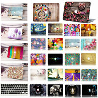 Plain Clear Crystal Snap On Hard Case Cover for MacBook Air 11 13 Pro 15 Retina