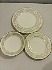3 pc Excellent LENOX China NOBLESSE Salad Plate-Bread Plate-Sauce Bowl