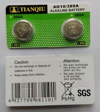 AG10 Watch Battery LR1130 389 390 189 L1131 LR54 D389 Alkaline Button Cell New