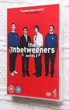 THE INBETWEENERS SERIES 2 (DVD) REGION -2, LIKE NEW, FREE POST IN AUSTRALIA