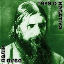 TYPE O NEGATIVE DEAD AGAIN CD NEW