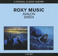 Roxy Music Avalon/Siren 2-CD NEW SEALED Love Is The Drug/Both Ends Burning+
