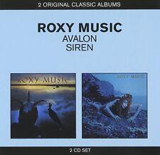 Roxy Music Avalon/Siren 2-CD NEW SEALED Love Is The Drug/Both Ends Burning+