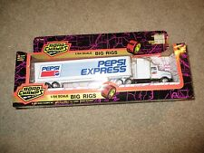 Road Champs 1:64 Scale Big Rigs Pepsi Express Tractor Trailer Truck MIB 1993
