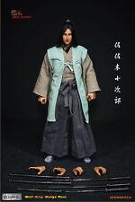 "Wolfking 1/6 Scale 12"" Japannese Warrior Sasaki Kojiro Action Figure 89007A"