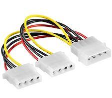 Strom Y-Kabel  intern 1 x 5,25 auf 2 x 5,25 Zoll Verteiler 0,15m Stromkabel
