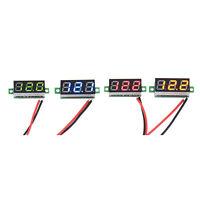 Mini Digital Voltmeter 2.5-30V LED Car Auto Voltage Volt Panel Meter 2 Wire