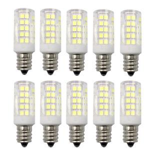 10pcs E12 C7 LED bulb 5W AC/DC 12V 64-2835SMD Ceramics Garden Landscape Lights
