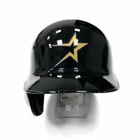 Houston Astros 1997 Throwback Authentic Worn On-Field Team Issued Batting Helmet