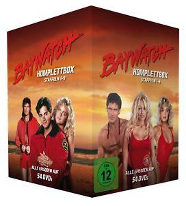 Baywatch - Komplettbox / Gesamtedition - Staffeln 1-9 - Fernsehjuwelen [54 DVDs]
