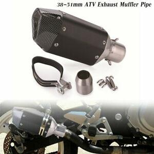 38-51mm Motorcycle ATV Slip-on Exhaust Muffler Pipe Silencer DB Killer Universal