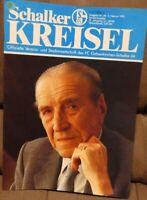 FC Schalke 04 Kreisel Magazin 03.02.1990 + Sonderausgabe Tod Ernst Kuzorra /611