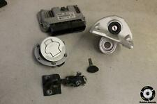 2007 BMW K1200GT ABS PROGRAMMED IGNITION LOCK KEY SET GAS CAP AND SEAT LOCK 06