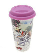 A Girl's Life Double Walled Insulation Ceramic Travel Mug & Silicon Lid LP32739