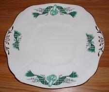 Adderley china plate w/Tabs England Cape Breton Island NOVA SCOTIA Tartan