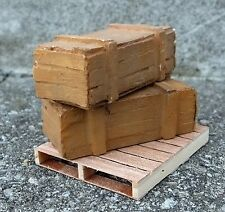 Rifle Crates (2) Miniatures 1/24 Scale G Scale Diorama Accessory Items