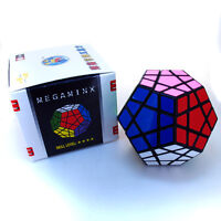 Black Shengshou 12 Sided Megaminx Maigc Cube Twist Puzzle For Speed Cubing
