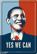 Nostalgic Art Barak Obama SÌ ABBIAMO CAN Cartolina metallo Cartolina #