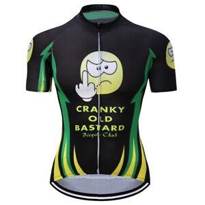 Men's Cycling Jersey Clothing Bicycle Sportswear Short Sleeve Bike Shirt 4XL