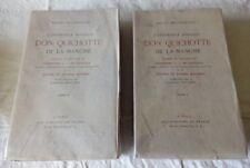 Cervantes - Don Quichotte 2 tomes Complet