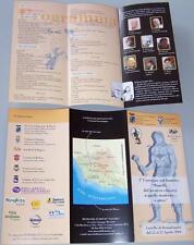 ZAGOR RARA BROCHURE CONVEGNO FUMETTO BONELLI 2004 - ALL'INTERNO TEX DI MAGNUS