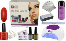 CCO UV LED WILDFIRE Nail Gel Polish Varnish Starter Kit Choice of Lamp FREE P&P