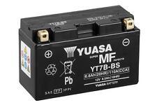 YT7B-BS BATTERIA YUASASIGILLATA 12V 6,8AH Ducati1199 Panigale Tricolore 2012 -